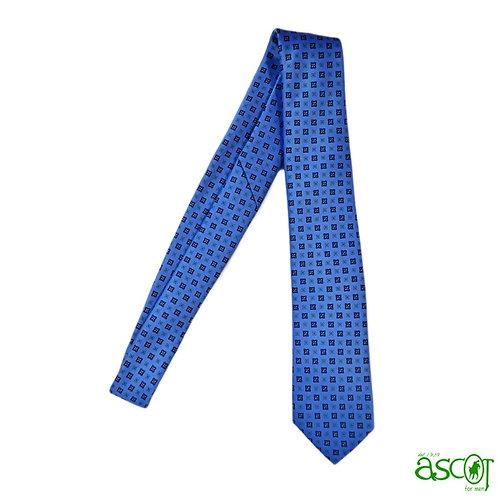 Tie light blue - italian silk