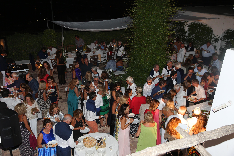 Party Caprese in villa