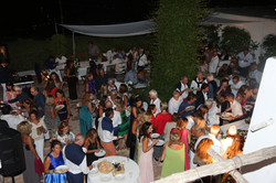 Party Caprese in villa