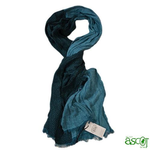Sciarpa di lana e seta