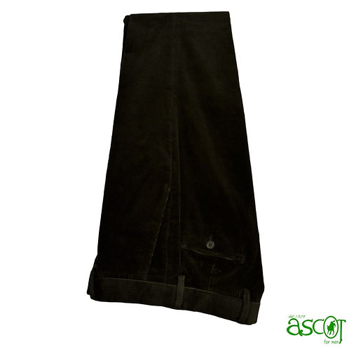 Velvet trousers - Vespucci green