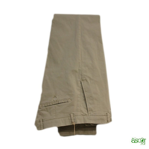 Cotton trousers with american pocket
