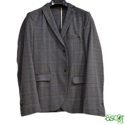Wool blazer - gray