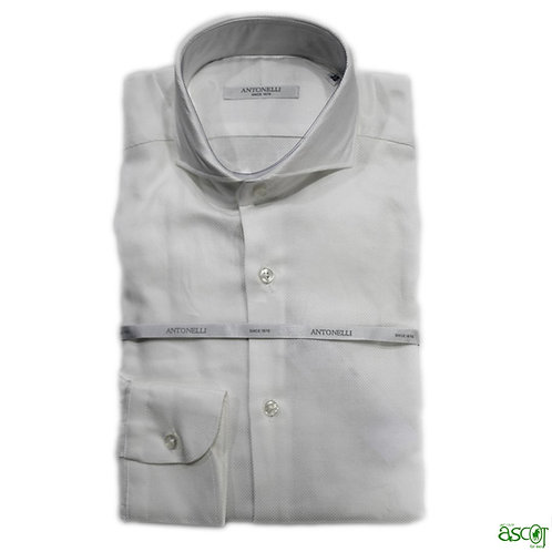 Antonelli white cotton shirt