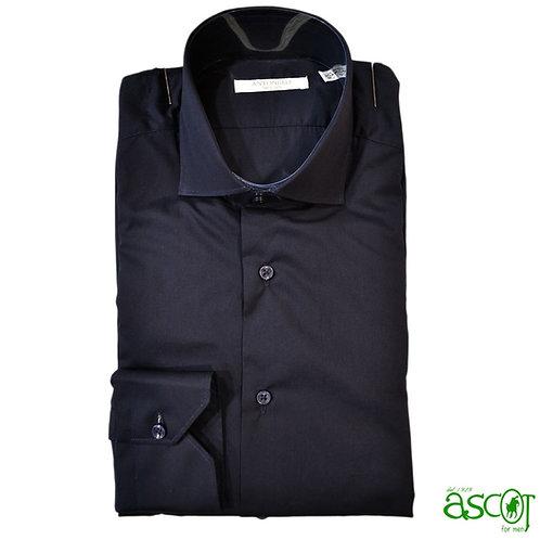 Camicia di cotone  - blue scuro