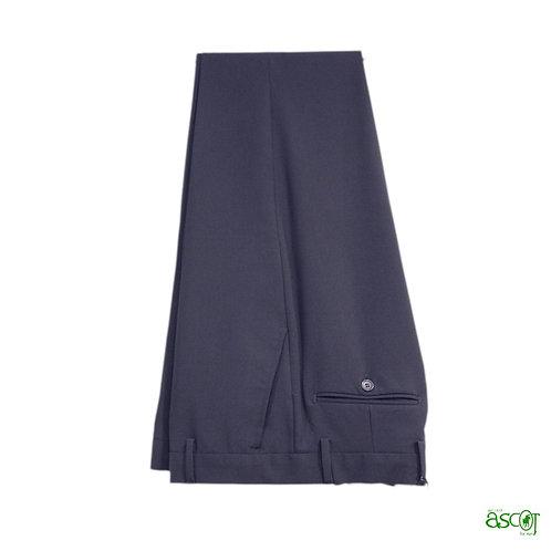 Pantaloni in fresco di lana blu