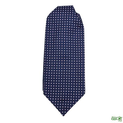 Ascot for men in pure silk