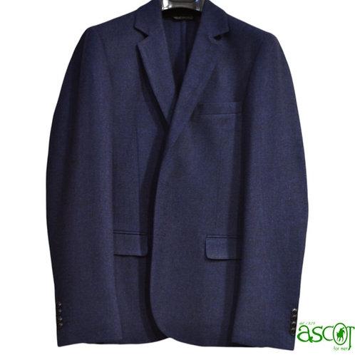 Giacca da uomo in lana -  colore cobalto