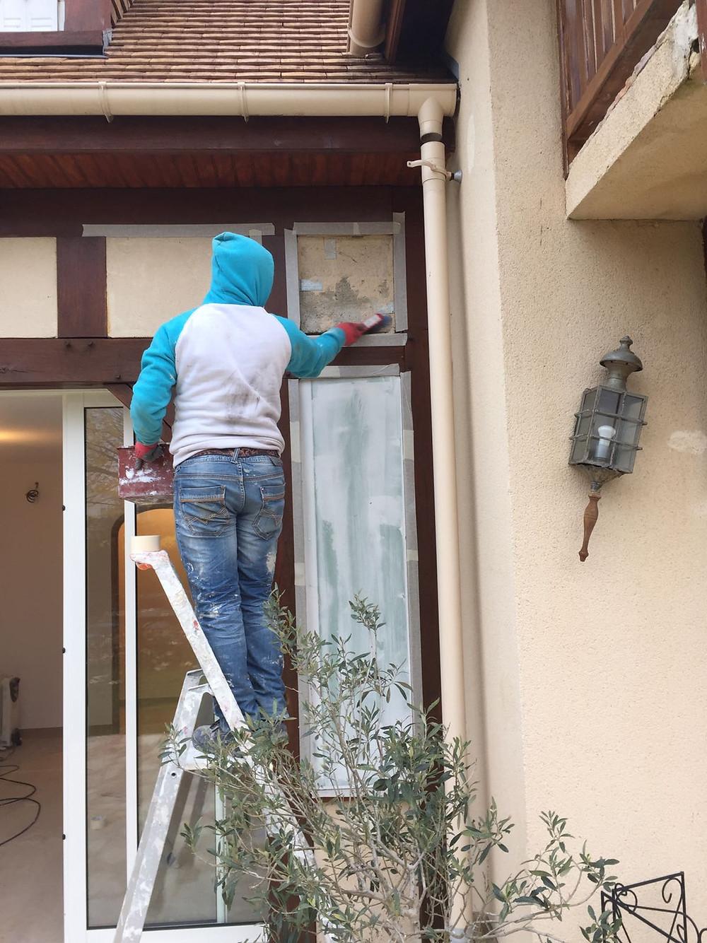 Odile Fiore Peinture Décoration, Rénovation de la façade