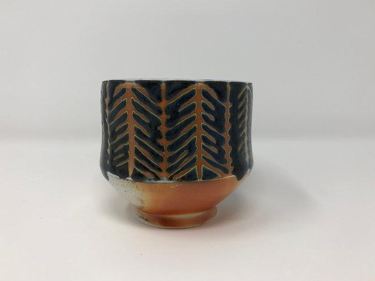 Herringbone  Teabowl 1 - Small