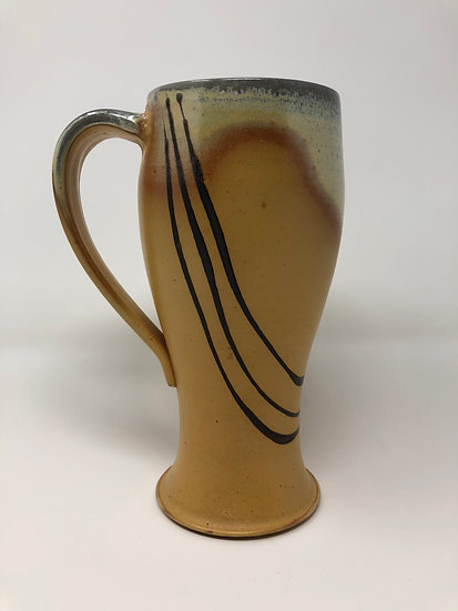 Yellow Black Lines Mug 2