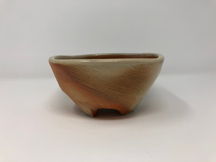 Woodfired Twisted Square Bowl 1 - small