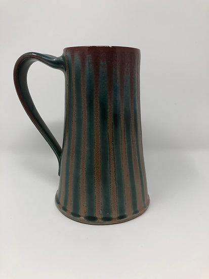 Green Stripe Beer Mug 1