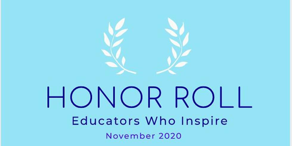 Honor Roll: Educators Who Inspire