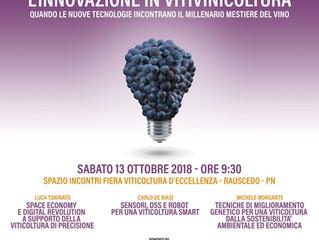 L'innovazione in viticoltura. Quando le nuova tecnologie incontrano il millenario mestiere del v