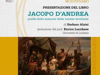 JACOPO D'ANDREA - quelle dolci armonie della veneta tavolozza