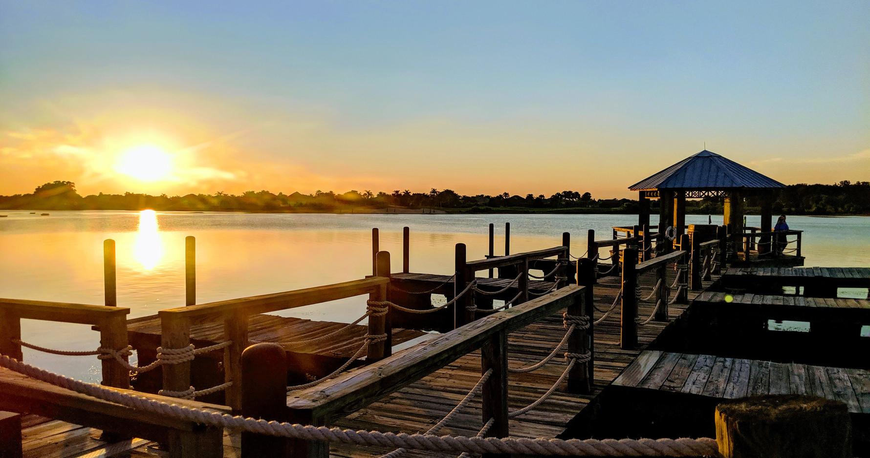Sunsets at Lake Sumter