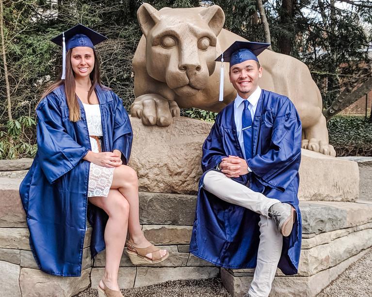 Noelle & Kevin Penn State Graduation