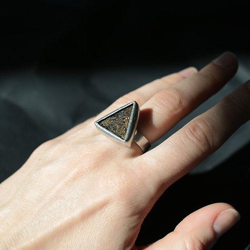 Кольцо с блестками