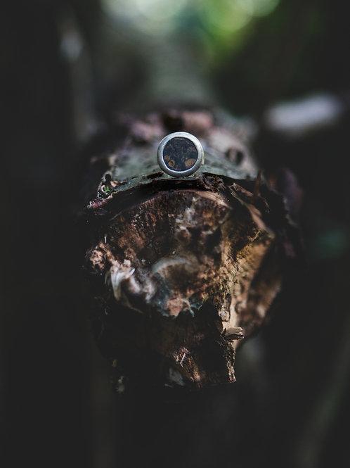Кольцо GREEN VIBES ~4~