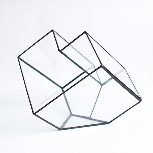 """Форма из стекла """"Сердце"""""""
