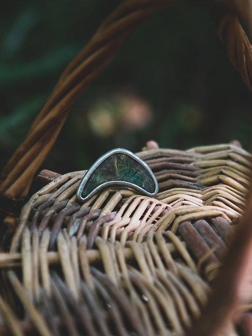 Кольцо GREEN VIBES ~2~