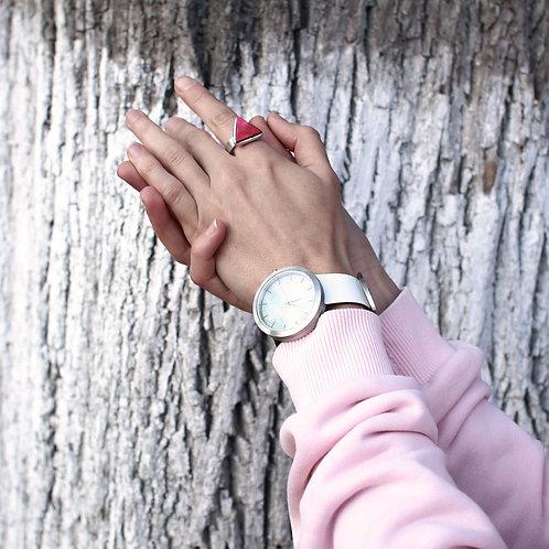 Кольцо из розового дерева