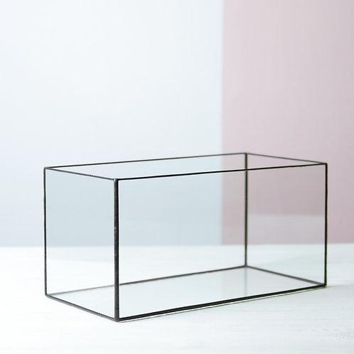 Стеклянная коробка для декора и хранения