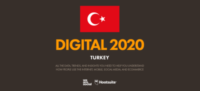 We Are Social 2021 Raporu'nun Türkiye Eki yayımlandı!
