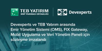 Devexperts, TEB Yatırım İçin Kapsamlı Alım-Satım Yazılımları Geliştirecek