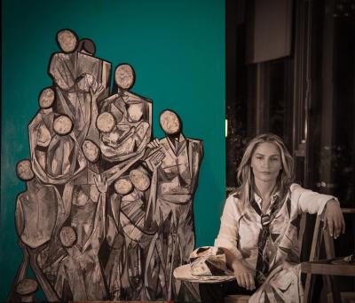 Fırçasında Savaşın İzlerini Taşıyan İranlı Ressam Yeni Sergi Hazırlığında