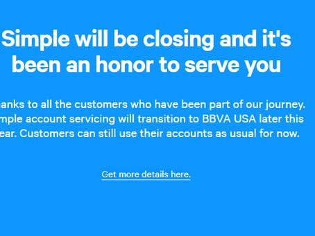 BBVA Simple' ı Kapatıyor