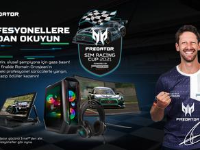 Acer, Predator Sim Racing Cup 2021'i Başlatıyor