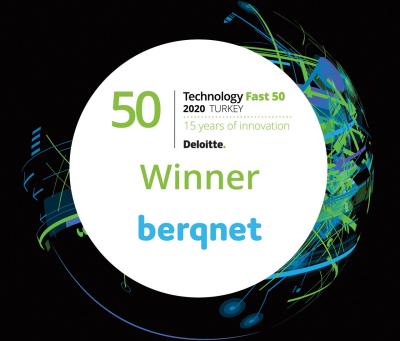 Yerli Firma Berqnet  En Hızlı Büyüyen Teknoloji Şirketleri Arasında Yer Aldı