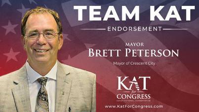 Mayor Brett Peterson