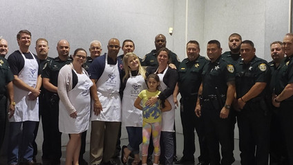 Grit Foundation Cooks for Clay Sheriff's NET Team