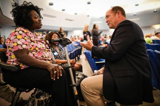 Gainesville Sun: Rep. Yoho faces rowdy crowd at Gainesville town hall
