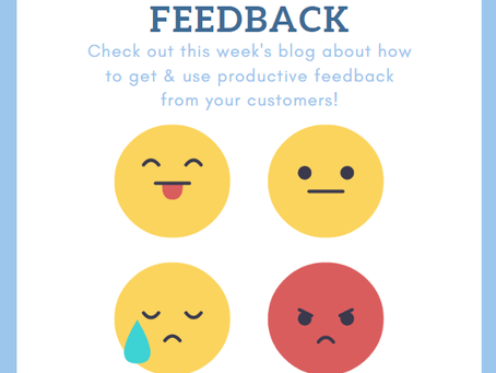 Getting and using customer feedback
