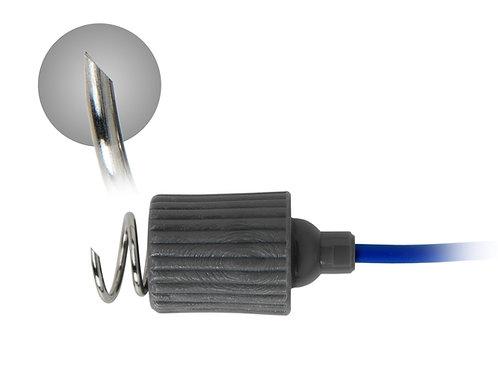 Eletrodos de Agulha Corkscrew Rhythmlink - Caixa com 12 unidades