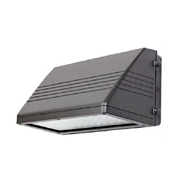 The US Luminaire's full cut-off wall pack was designed and built with high performance, efficiency and cost effectiveness in mind. The LEDs are housed in a sealed compartment separate from the drivers to keep them cool. A bubble level is built in and a gasket is included to ensure proper and simple installation. The unit is lightweight while being extremely durable. Ideal applications include building exteriors, entryways and walkways, parking lots and security lighting.