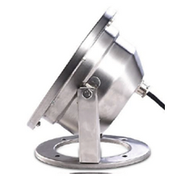 This underwater light is made of stainless steel and tempered glass for durability. Fully submersible, these lights are suitable for pools, ponds, and fountains.