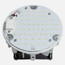 This general retrofit is suitable for retrofitting a variety of existing fixtures. It can be used in indoor and outdoor fixtures including high bays, street lights, canopy lights, pole lights, and post lights.