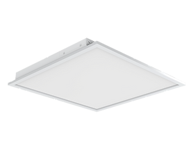 This back-lit panel is recessed mount. Available in 2x2 and 2x4.