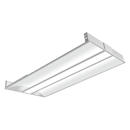 The 2X4FT LED troffer offers a traditional yet modern design with the latest lighting technology. Transparent optics engineered specifically for LED sources are integrated with minimalist design and architectural materials to create a broad range of solutions with superior optical and energy performance. High performing optics allows for maximum energy savings and optimal illumination in a ultra-minimalistic shallow recessed fixture, provides a unique translucent appearance without sacrificing performance. Long-life LED system coupled with electrical driver to deliver optimal performance. LEDs are available in 3000K, 3500K, 4000K and 5000k. Standard drivers are 0-10 volt continuous dimming that work with 0-10V control/dimmer.
