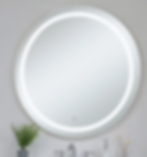 Circular and rectangular options are available. All mirrors feature integrated LED. Some models have selectable CCT. Medicine cabinet models are also available.
