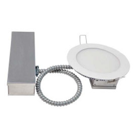 Note: This product is being discontinued and replaced with USL-CSP2C. Limited stock is available. https://www.usluminaire.com/Products/USL-CSP2C  These LED round panels are an ideal replacement for commercial and residential downlighting applications. The round panel range is sized to be inserted directly into standard light cut holes. By having LED chips mounted in the edge of each panel greater beam angles can be achieved than traditional. Each panel is supplied with a driver connected through armored cables reducing the fire hazard risk, especially important in high voltage commercial applications.