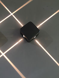 This fixture can be used to make decorative grid or linear light patterns. Fixtures are available in a wide range of CCT options in both 2-beam and 4-beam options. RGB models are available with 4 beams.