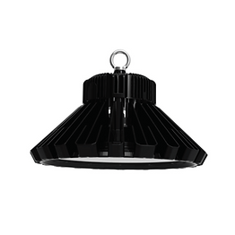 This light-weight, compact high bay fixture is ideally suited for large area applications such as workshops, warehouses, parking lots, sports venues and dock areas. Its unique patented sunflower heat sink allows for advanced thermal dissipation. And its rugged die-cast aluminum housing ensures its durability.