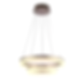 The circular Waconia pendant is built of a seamless aluminum body with an acrylic lens to evenly diffuse its down light. It is available in 5 ring sizes 16-48 inches and can be put in 3-level tiers. The suspension mounting allows for multiple rings to be placed even and concentric, or cable lengths can be adjusted to create a truly custom look.