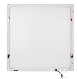 This flat panel features a color-selectable model and a powerselectable model. Both of these configurations are set via a dip switch. The slim fixture fits in a wide variety of applications–anywhere that troffers would traditionally go. Available in 1x4 in addition to standard 2x2 and 2x4.